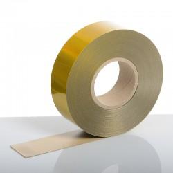 Reflexite 50m x 50mm Yellow Rigid ECE 104 Stripes