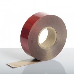 Reflexite 50m x 50mm Red Rigid ECE 104 Stripes
