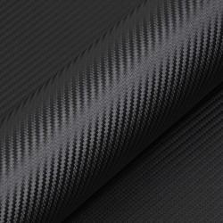 Cast 1370mm x 20m Raven Black Carbon Gloss HX