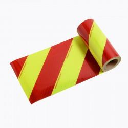 CHEVS77 - Yellow/Red Fluorescent Class B