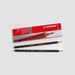 Box of 12 Pencils Black