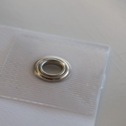 Eyelets for banner 100 eyelet alternat./ reinf.