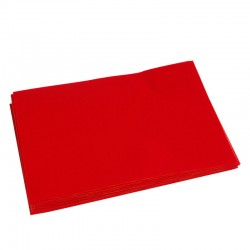 Felt Pad for Squeegees 10 Red Felt Pads A5 Sheet Size
