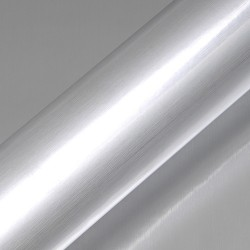 PET Metallic 1230mm x 30m Brushed Aluminium