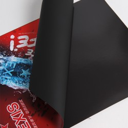 1270mm x 30m Ferrous print. film, white mat
