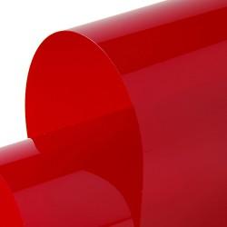 Transparent 1230mm x 30m Red
