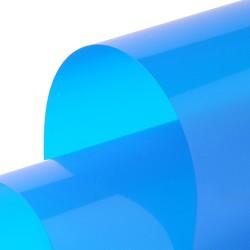 Transparent 1230mm x 30m Steel Blue
