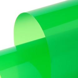 Transparent 1230mm x 30m Lichen Green
