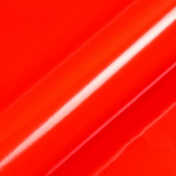 Fluorescent 615mm x 15m Red